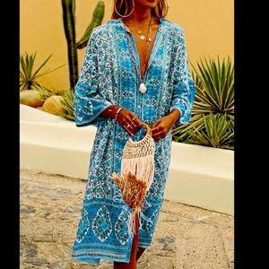 Noracora Bohemian dress swimsuit coverup